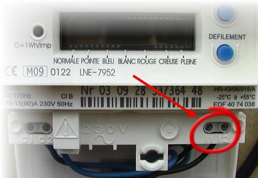 port série compteur EDF